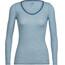 Icebreaker Siren - Sous-vêtement Femme - bleu/blanc